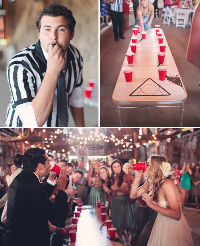 wedding flip-cup? yes, please.