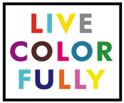 "[Kate Spade, ""Live Colorfully""]"