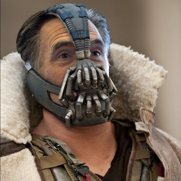 #Bane #Bain #Romney #Batman (Taken with Instagram)