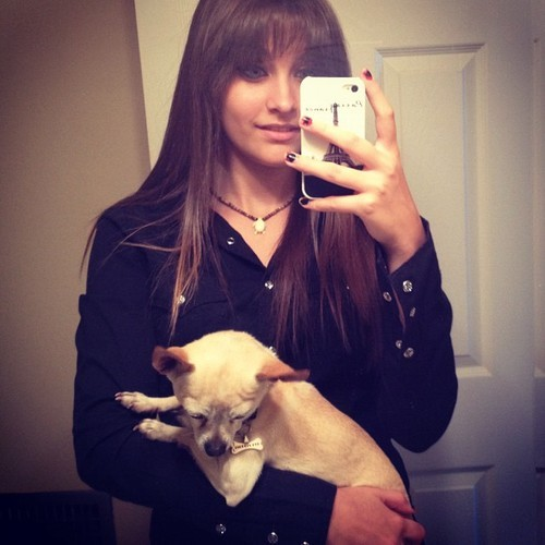 kindafabulous:  Paris Jackson has risen to the ranks of my new #1 Jackson (sorry Janet). Also, don't you dare take away Paris Jackson's social media!  OMG, I LOVE YOU, PARIS!!!!