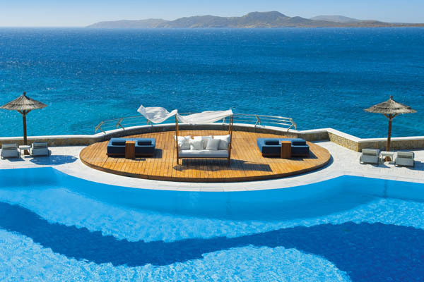 freshome:  Cycladic Luxury Beach Resort Heaven On Mykonos Island
