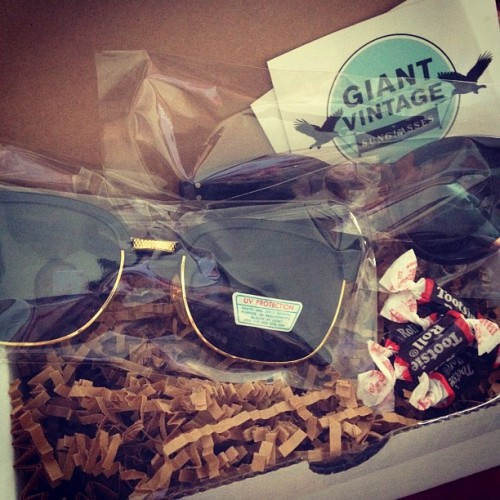 Sun protection #clubmaster #giantvintage #circleframes  (Taken with Instagram)