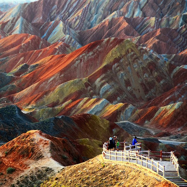Danxia Landform—China (via The Fancy)