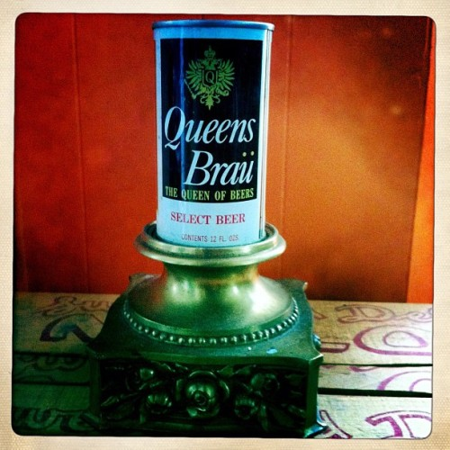 The Queen of Beers. #beer #packaging #gay (Taken with Instagram at Home)