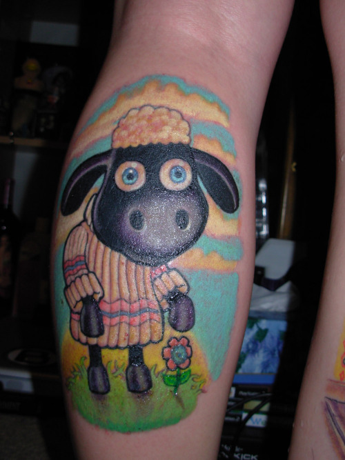 One of my favs Shaun the Sheep done by the great Gunnar back in 2006. Check out his artwork at www.artofgunnar.com.