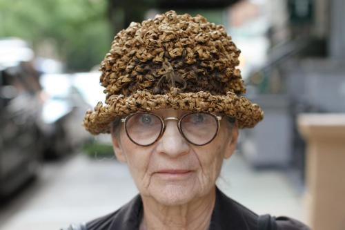 "humansofnewyork:  ""People try to buy it off my head."""
