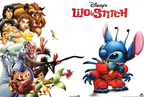 Stitch advertisement poster <3