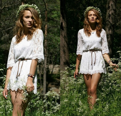 pretaportre:  Sweden lookbook guru Petra Karlsson in 'Glad Midsommar!'.