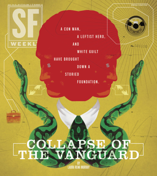 Collapse of the Vanguard: July 18, 2012 Illustration by Stuart Bradford