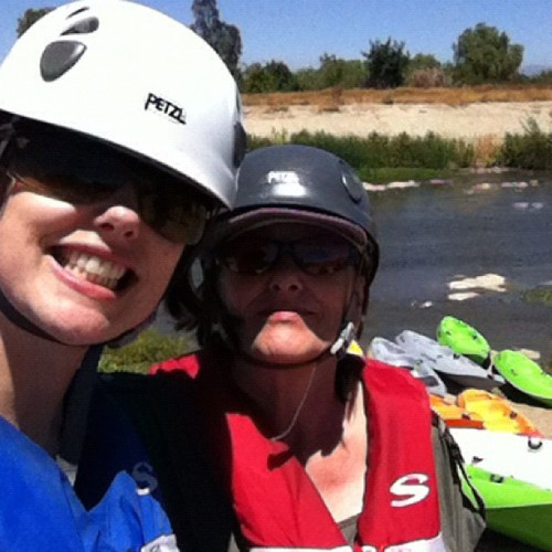 Prepping for Paddling the LA River! / on Instagram http://instagr.am/p/NejuIvlA10/