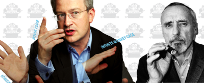 (via Mustard comedy magazine) The Robin Ince interview (previous post) is an edited version of an interview from the latest Mustard magazine, which I have just ordered. Along with the Lee & Herring back issue. A bargain at £2.50 each, and I'm tempted to buy the rest of the back issues too.