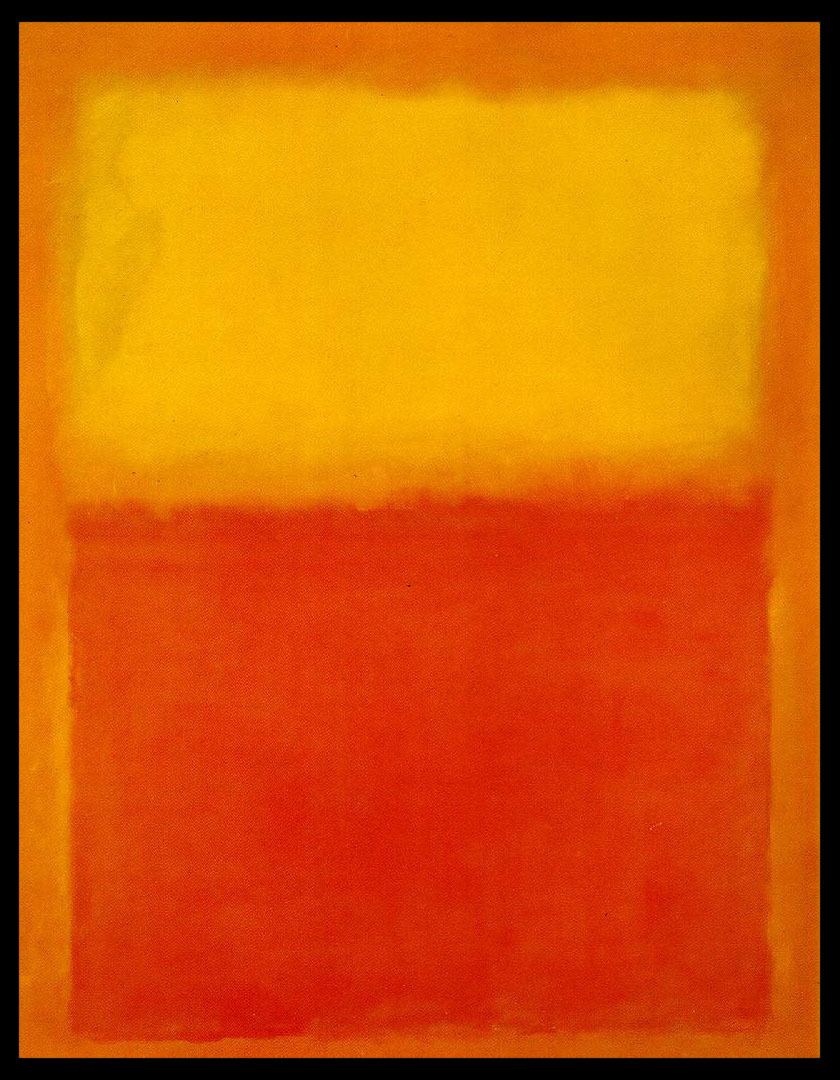gacougnol:  Mark Rothko - Orange and yellow