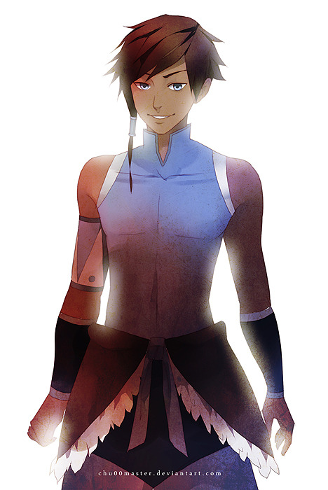 smoochingfavorites:  shinnyboo:  spike-spiegel:  chuwenjie:  MAN KORRA (or as I have dubbed him, Korro) HE'S THE AVATAR AND YOU GOTTA DEAL WITH IT I don't think I've ever seen any genderbend Korra, so I thought I'd give it a shot.  Enjoy! Deviantart: www.chu00master.deviantart.com  yes. good.   Yes.  OH NO HE'S HOT