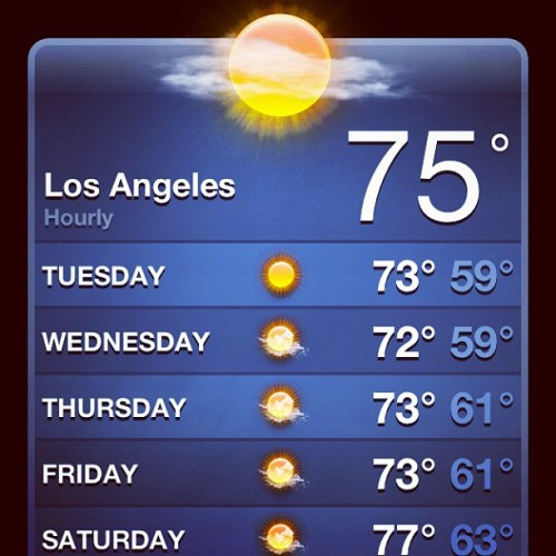 Thanks LA!  (Taken with Instagram)