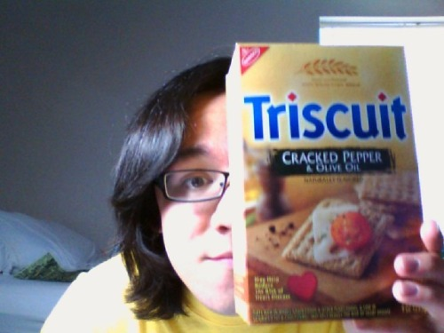 my triscuits!