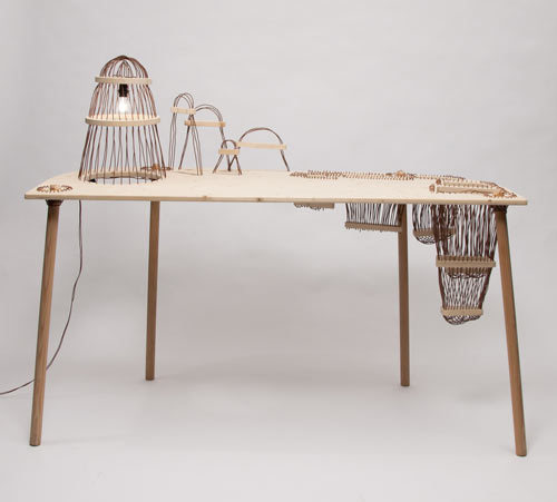 Land(e)scape Desk by Elodie Elsenberger