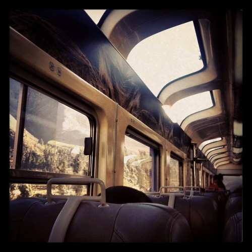 train ride to machu picchu  (Taken with Instagram at PeruRail Station Urubamba)
