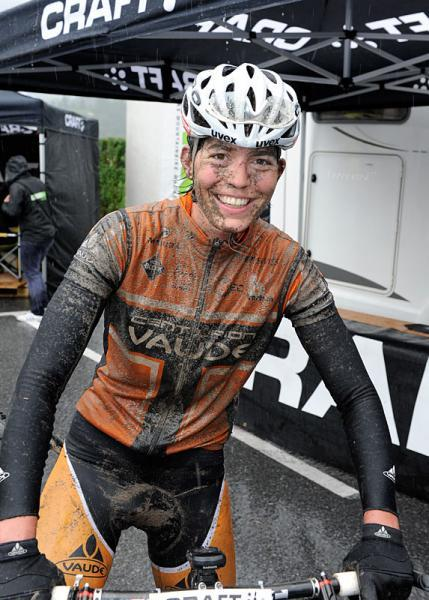 Women's winner Milena Landtwing of Centurion-Vaude Photo: © TransAlp (via TransAlp 2012: Women's Winner Milena Landtwing Of Centurion-Vaude, Photos | Cyclingnews.com)