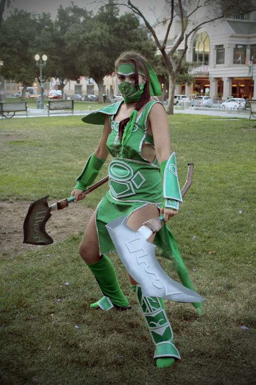 Akali from LoL.Source: http://www.facebook.com/sushisquallette