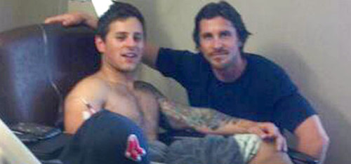 herochan:  deantrippe: Christian Bale was in Aurora today visiting victims of Friday's movie theater shooting.