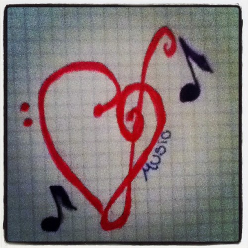 Music is my life! #lovemusic (Taken with Instagram)