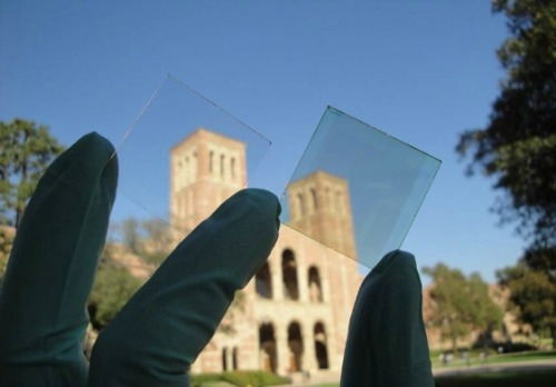 UCLA researchersTransparent solar cells for windows.
