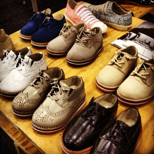 funkypresident:  Baby brogues, hands down, favorite thing @capsulenyc (Taken with Instagram)  Future children, you have been warned. Girl or Boy.