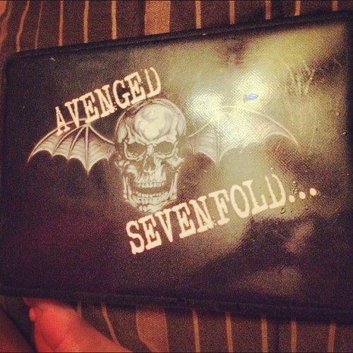 Laptop cover! #a7xdiehard  (Taken with Instagram)