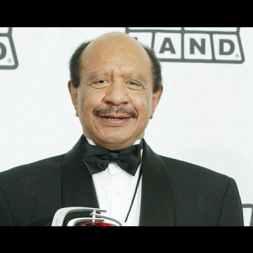 "RIP George Jefferson. You and Weezy made the world a better place. You've finally ""moved on up"" for good. Thx for the memories! (Taken with Instagram)"
