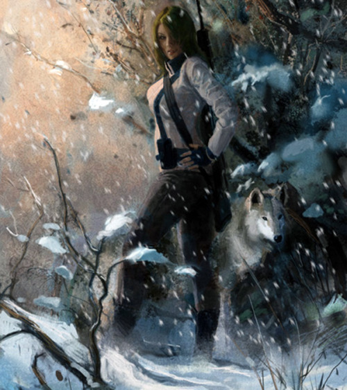Sniper Wolf art from Metal Gear Solid