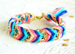 Colorful Chain Bracelet - $13.00