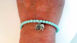 Good Luck Elephant Bracelet - $16.00