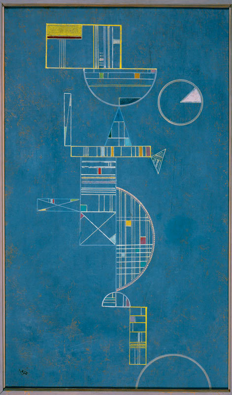 Wassily Kandinsky (1866-1944) Flowing (Coulant), 1931