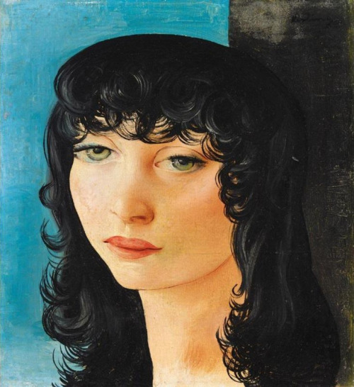 blueruins:  Young Dutch Woman (1930) by Moise Kisling