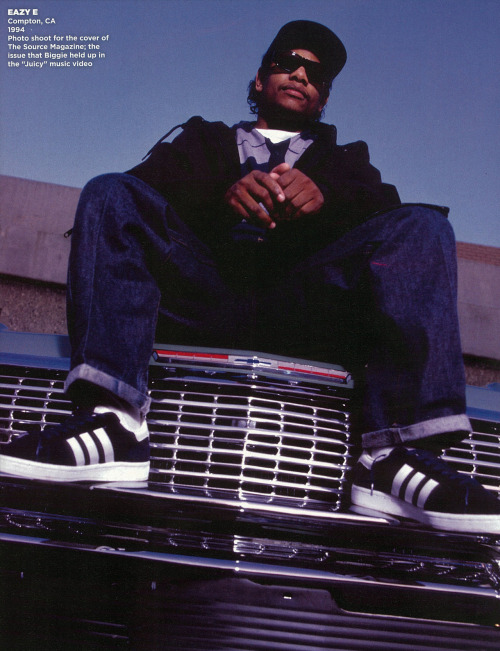 wordtothemother:   Hip Hop Weekly. Portraits 1980 - 2010. Eazy-E.