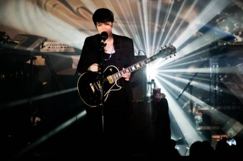 The xx live at the Metro Theatre. Photo: Ashley Mar
