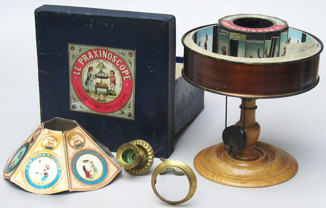 A History of 19th century optical toys - Dawn of the Flick: The Doctors, Physicists, and Mathematicians Who Made the Movies (via Boing Boing)