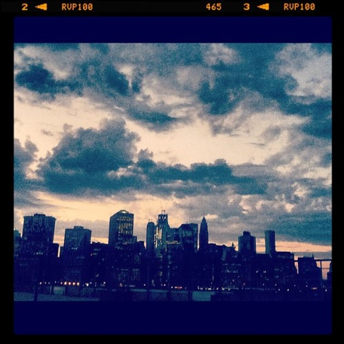 #summer in #nyc  (Taken with Instagram at Pier 6 - Sand Court)