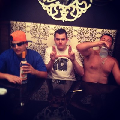 Smacked U-KliQ style (Taken with Instagram)