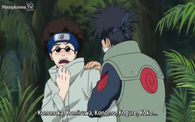 poohbearsteph:  nojutsu:  fuckyeahh-naruto:  shino's freakin out  no he's bugging out  ^