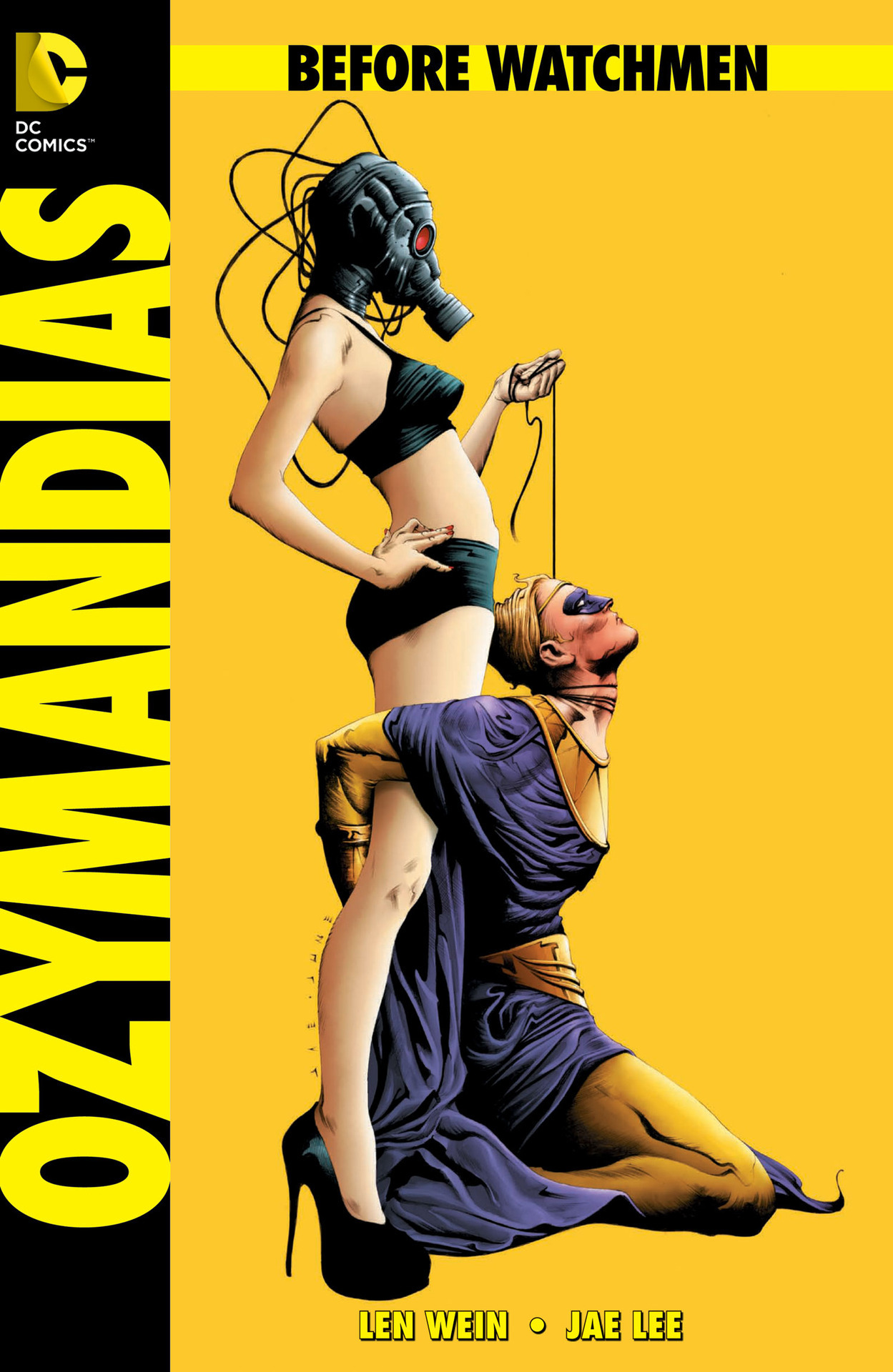 milleetune:  Look at how gorgeous the cover art for Ozymandias #2 is. Sooo pumped.