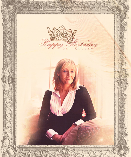 Happy 47th Birthday, J. K. Rowling!