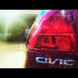 #mycar #2002 #honda #civic #honda4life #taillight #beautiful  (Taken with Instagram)