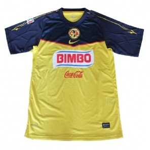 NEW Club America 2011/12 Home yellow Soccer Jersey $21.00