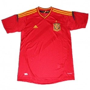 Euro 2012 Spain home soccer jersey $21.00