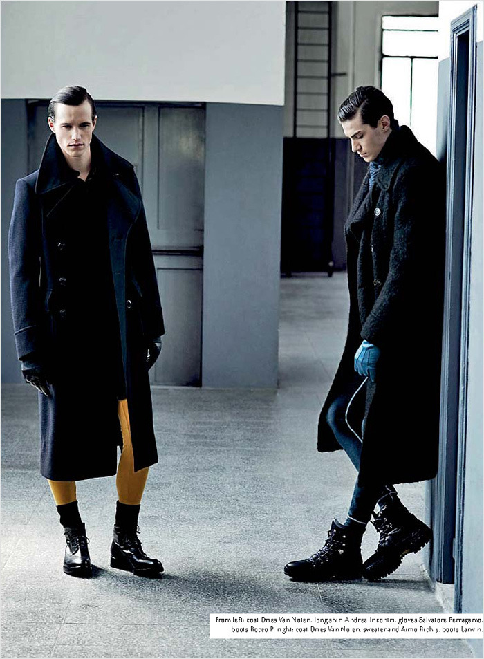 inamirror: Antoine & Robert for Collezioni Uomo- Contemporary Uniform by Markus J. Diyanto