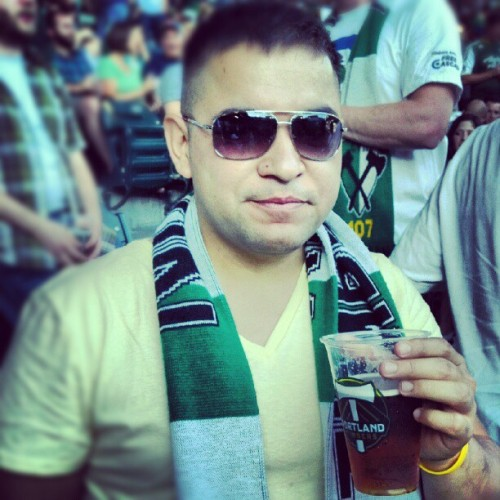 Where else would I be? #ptfc #PDX  (Taken with Instagram)
