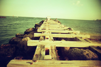 Jetty on Flickr.Photo Credit: Matt Brasch Location: Pompano Beach, FL Date: April 11, 2012 Things Featured in Photo: Jetty Camera: Superheadz Black Slim Devil Focal Length: 22 ISO: 200 Film Stock: Vista 200 AGFA Photo (2 years past expiration date)