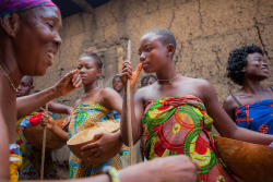 souls-of-my-shoes:  the dipo ceremony of the krobo girls in ghana (by anthony pappone photographer)