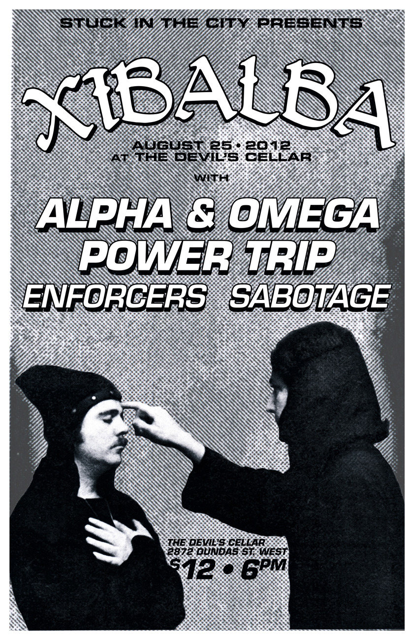 This is gonna be a seriously intense one. Flyer by THE CHEW.